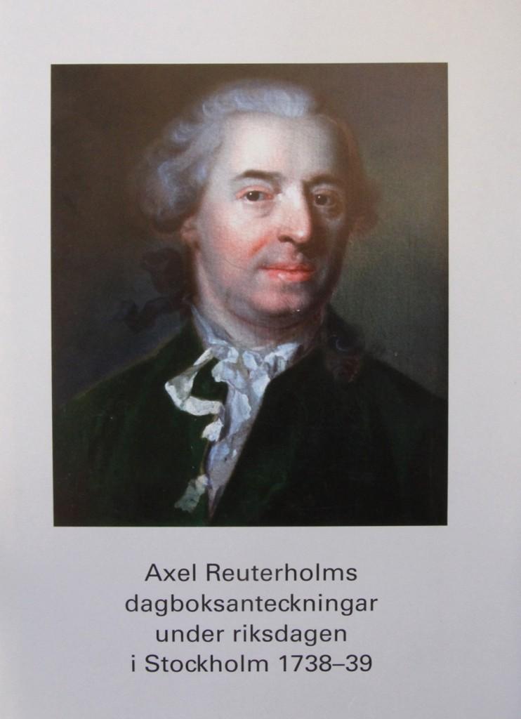 Axel reuterholms dagboksanteckningar.