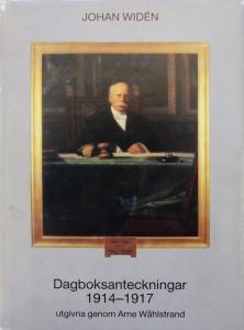 Johan Widén, Dagboksanteckningar 1901-1913. Utgivna genom Arne Wåhlstrand. Stockholm 1984. ISBN 91-85104-12-4