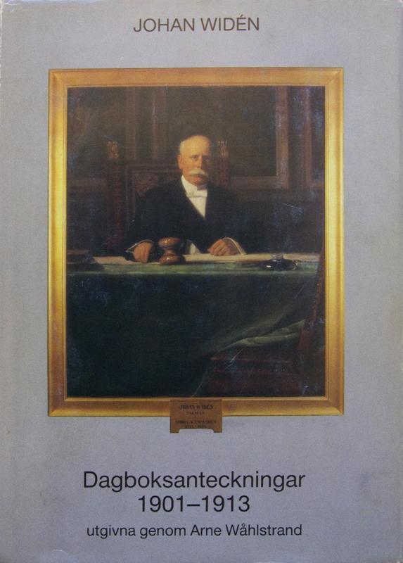 Johan Widén, Dagboksanteckningar 1914-1917