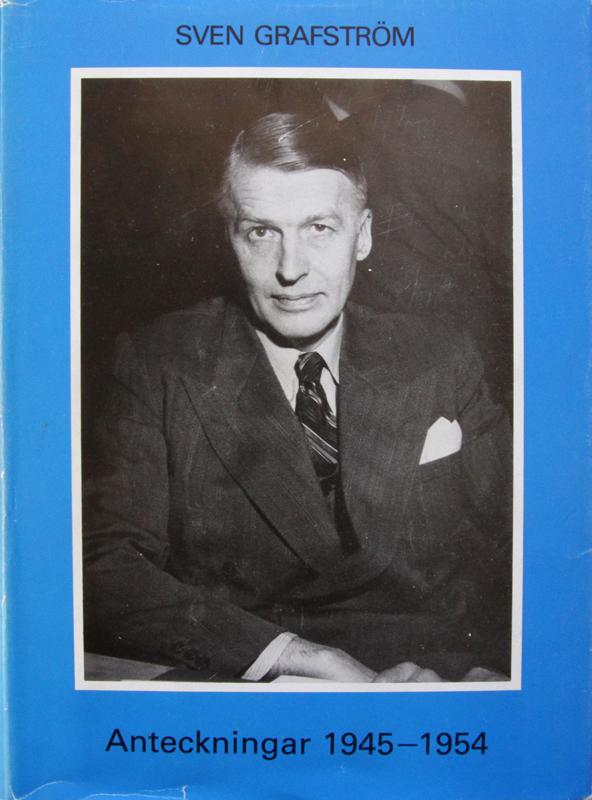 Sven Grafström, Anteckningar 1945—1954