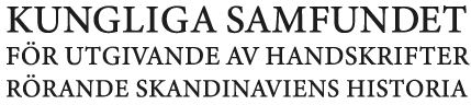 Kungliga samfundet för utgivande av hanskrifter rörande Skandinaviens historia